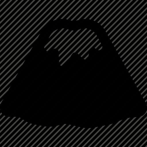 fuji, landmark, mountain, signature icon