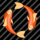 carp, fish, japan, koi icon