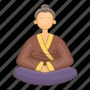 asia, japan, japanese, monk icon