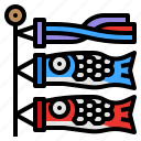 cultures, fish, flag, japan, koinobori
