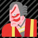 drama, japan, kabuki, mask icon