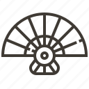fan, japan, japanese fan icon