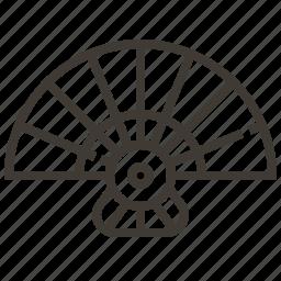 fan, japan, japanese fan icon