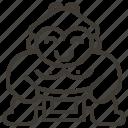 japan, sumo, sumo wrestler, wrestler icon