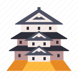 architecture, castle, hirosaki castle, japan, japanese, prefecture, travel icon