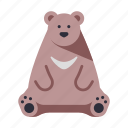 animal, bear, japan, japanese, japanese bear, wildlife, zoo icon