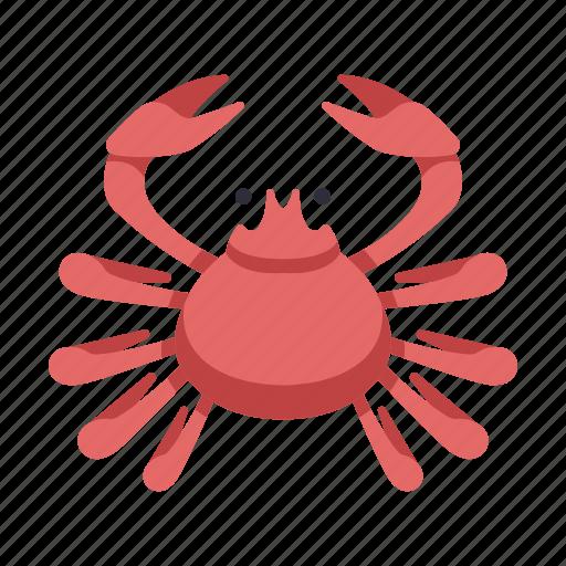 crab, cuisine, japan, japanese crab, kani, restaurant, seafood icon