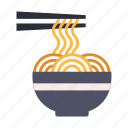 asian, cuisine, gourmet, japan, japanese, noodle, ramen icon