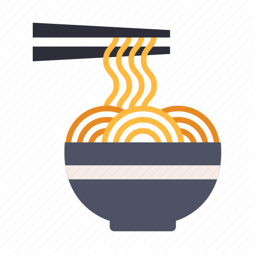 asian, cuisine, gourmet, japan, japanese, noodle, ramen icon