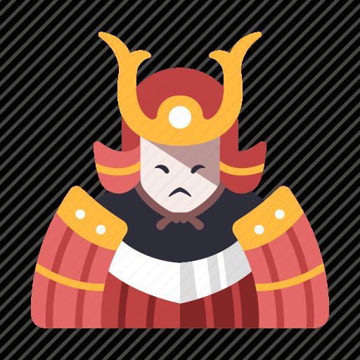 asian, character, japan, japanese, medieval, samurai, warrior icon