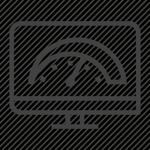 Effectiveness, equipment, oee, overall icon