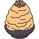 kakigori, shaved, ice, dessert, sweet