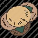 senbei, rice, cracker, snack, crunchy