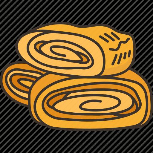 Tamagoyaki, sweet, omelet, roll, food icon - Download on Iconfinder