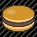 dessert, dorayaki, food, japan, line, pancake, sweets icon
