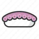 food, japan, line, rice, sushi, tako icon