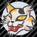 cat, ghost, japan, japanese, nekomata, yokai icon