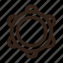 instrument, music, musical instrument, percussion, rhytm, tambourine icon