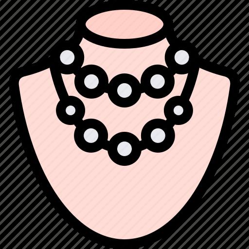 accessories, fashion, jewellery, jewelry, luxury, necklace icon