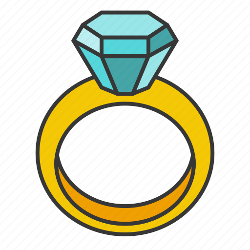 Accessory, diamond, fashion, gemstone, jewelry, ring icon - Download on Iconfinder