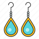 accessory, earring, fashion, gemstone, jewelry, turquoise icon