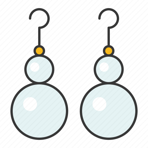 Accessory, earring, fashion, gemstone, jewelry, pearl icon - Download on Iconfinder