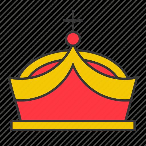 accessory, crown, fashion, jewelry, king, luxury icon