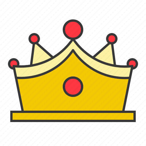 Accessory, crown, fashion, gemstone, gold, jewelry, luxury icon - Download on Iconfinder