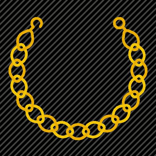 accessory, fashion, jewelry, necklace icon