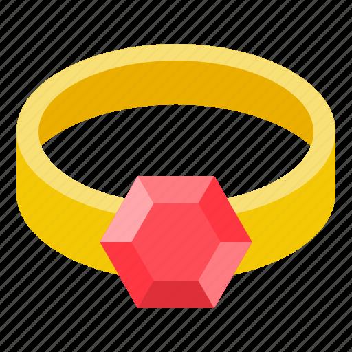 accessory, fashion, garnet, gemstone, jewelry, ring, ruby icon