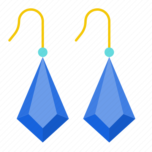 Fashion, jewelry, accessory, earring, sapphire, gemstone icon