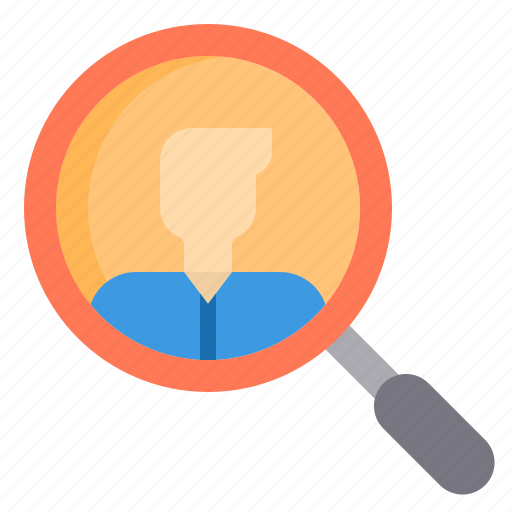 Human, job, resource, search icon - Download on Iconfinder