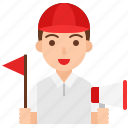 avatar, guide, job, male, occupation, profession, tour guide icon