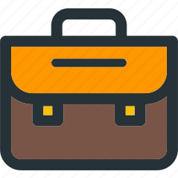 briefcase, business, office, portfolio, work icon