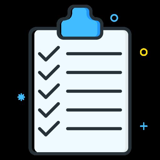 checklist, employee, job, seeker, unemployee, work icon