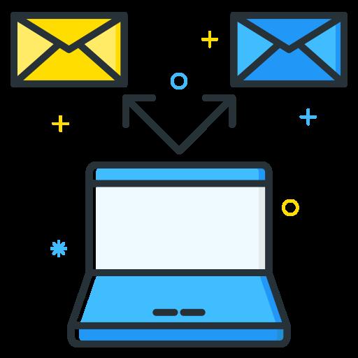 email, employee, job, seeker, unemployee, work icon