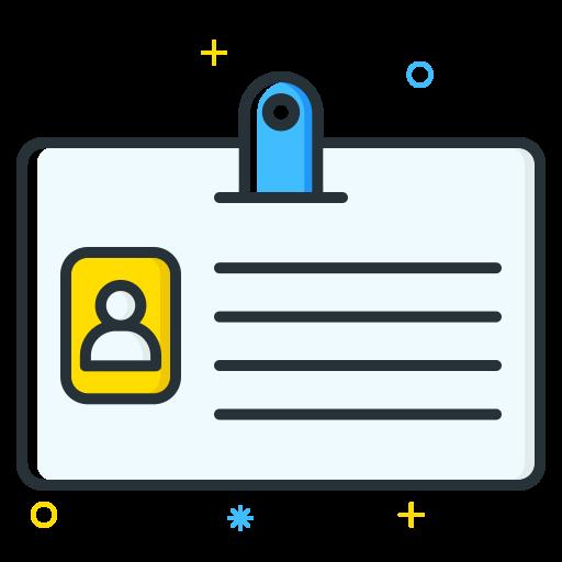 card, employee, id, job, seeker, unemployee, work icon