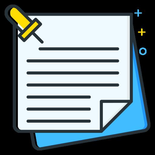 employee, job, notes, seeker, unemployee, work icon