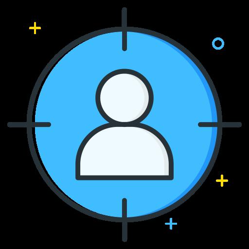 employee, job, seeker, target, unemployee, work icon