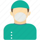 avatar, doctor, human, man, nurse, operating room nurse icon