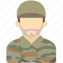 avatar, human, man, military personal, soldier, space icon
