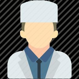 avatar, doctor, imam, medical, uniform icon