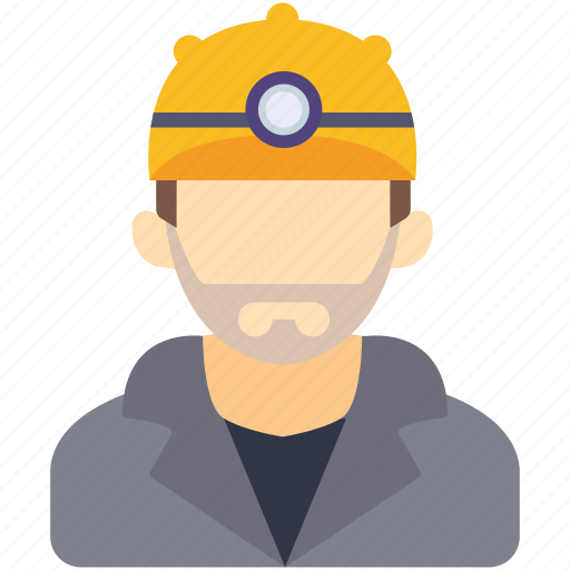 avatar, human, industrial, man, miner, repairman icon