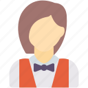 avatar, cleaner, waitress icon