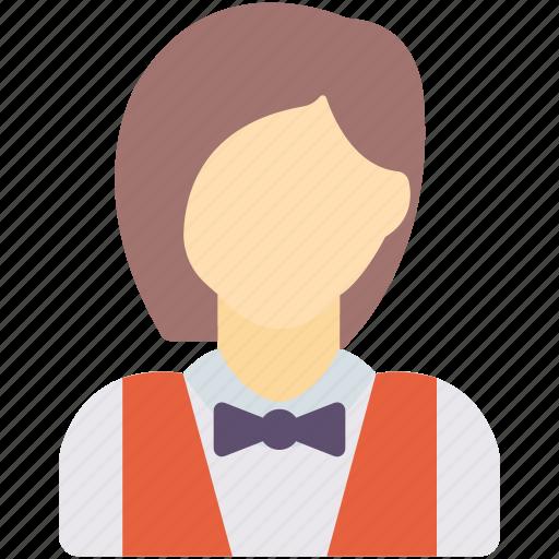 avatar, cleaner, waitress icon