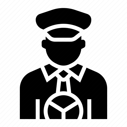 Avatar, cabbie, chauffeur, driver, driving, occupation, taxi driver icon - Download on Iconfinder