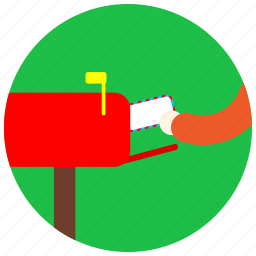 envelope, jobs, letter, mail, mailbox, man icon