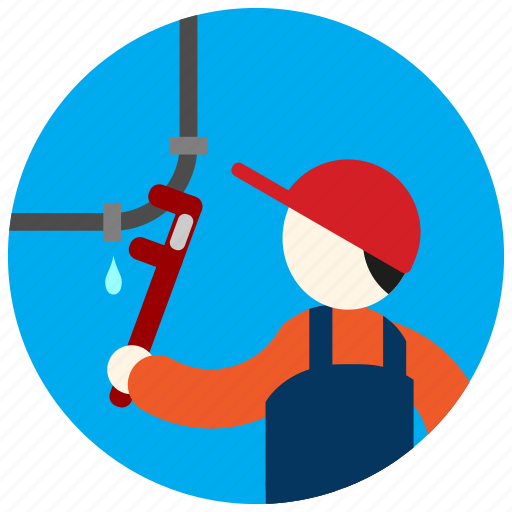 drip, hat, jobs, pipes, plumber, uniform icon
