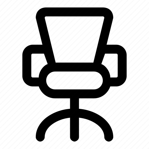 business, chair, cubicle, furniture, office icon