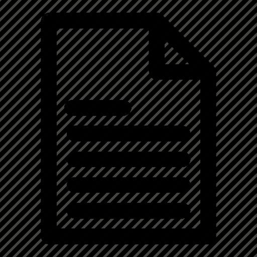 archive, document, file, paper, report icon